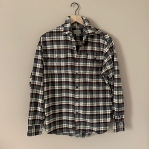 🌟Jachs Grey and Brown Flannel